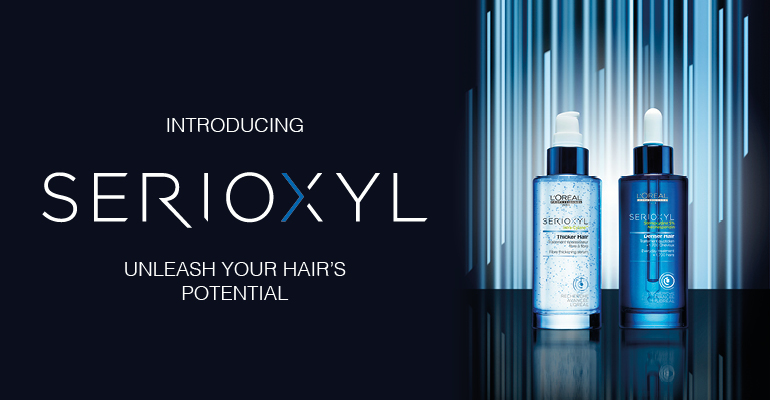 L'Oreal's new Serioxyl Thicker Haircare system